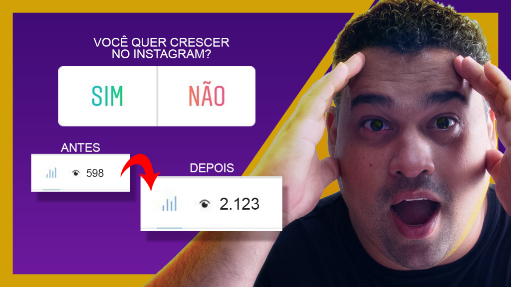 Enquetes no Instagram